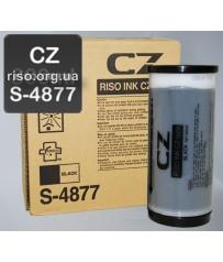 Краска для ризографа черная S-4877Е CZ (800мл)