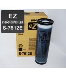 Краска для ризографа черная S-7612E EZ (1000мл)