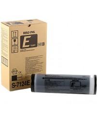 Краска для ризографа черная S-7124E RZ9-HD (1000мл)
