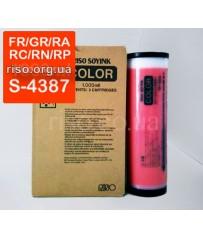 Краска FR/GR/RA/RC/RN/RP/ V8000 красная RED S-4387E (1000мл)